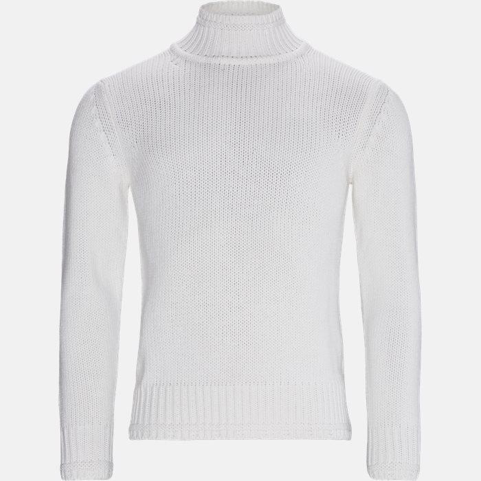 Strik - Regular fit - Hvid